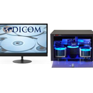 εγγραφή και εκτύπωση CD & DVD ιατρικών εξετασεων