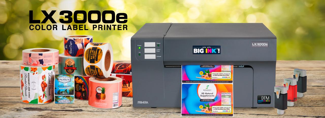 Νέος έγχρωμος εκτυπωτής LX3000